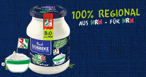 Neu! Unser Bio NRW Joghurt